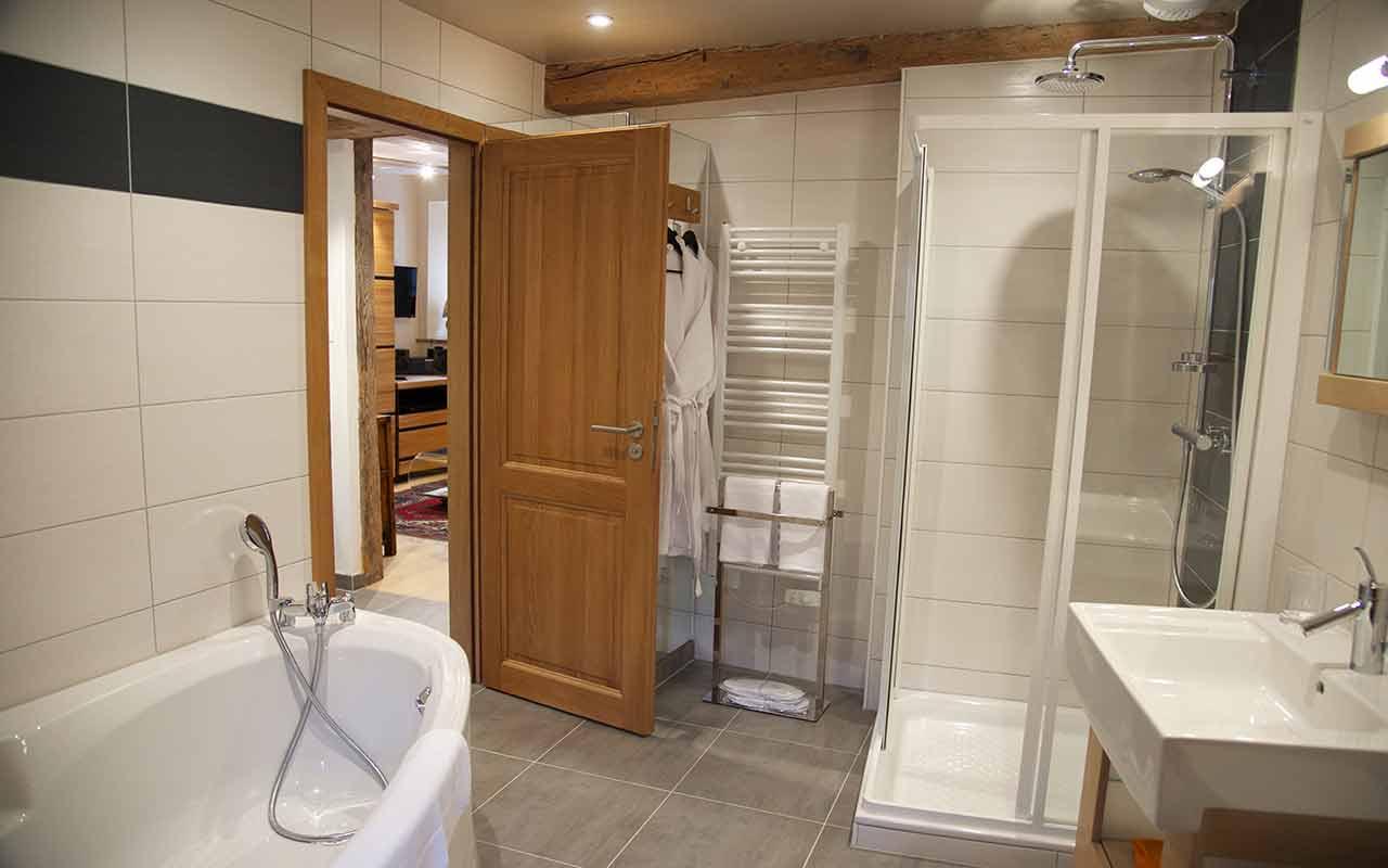 La salle de bain gite riquewihr