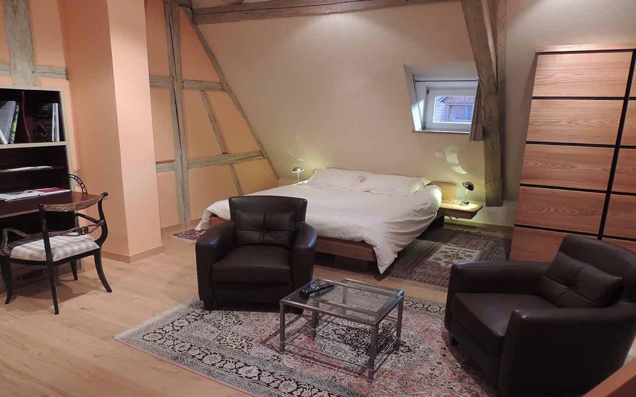 Le Salon chambre à coucher dolder gite riquewihr